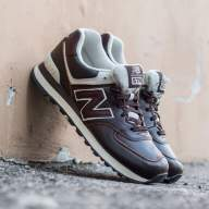 New Balance 574 brown leather (Euro 41-45)   - New Balance 574 brown leather (Euro 41-45)